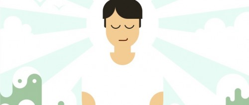 meditator-vector header