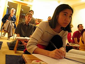 Buddhist study class
