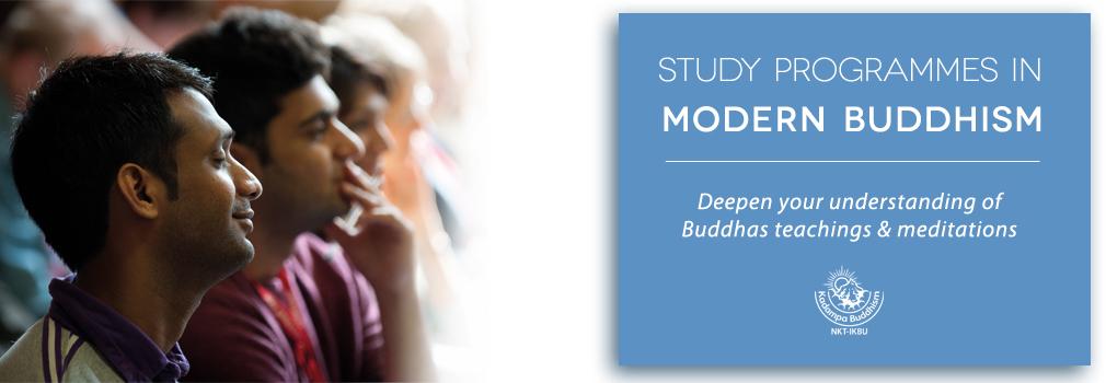Study Programmes in Modern Buddhism
