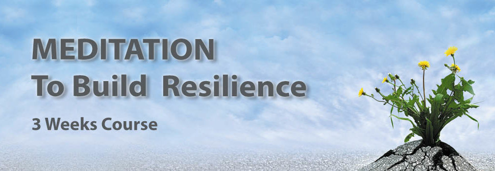 meditation to build resilience