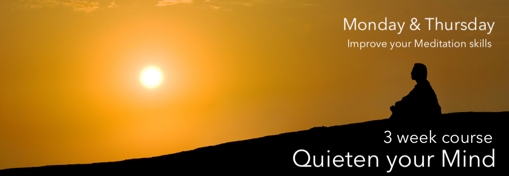 quieten the mind meditation course