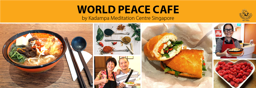 world peace cafe - vegetarian food