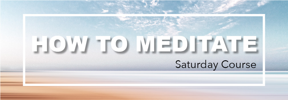how to meditate meditation course
