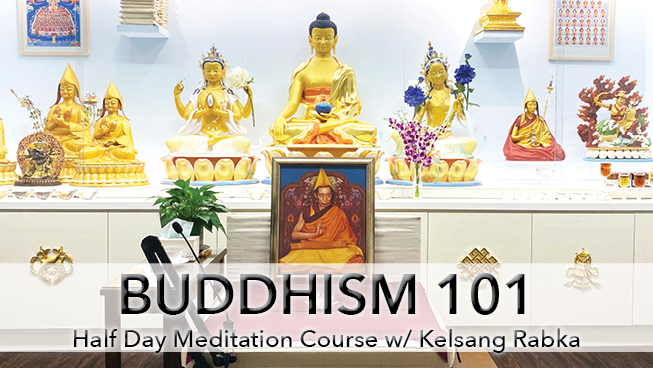 Buddhism 101 workshop