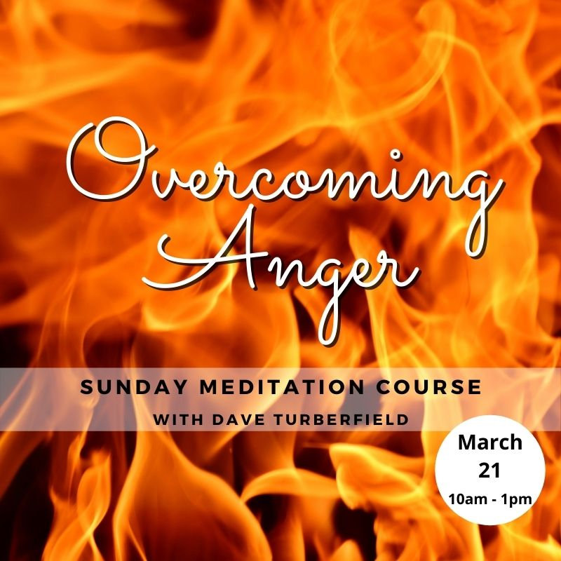 Overcoming Anger Meditation course