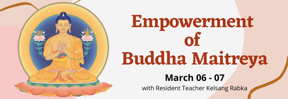 Buddha Maitreya Empowerment